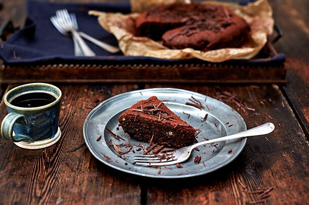 Gluten free Espresso and chocolate cake